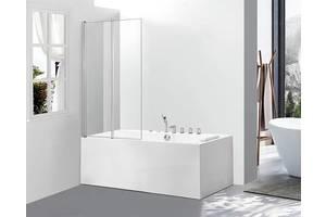 Скляна шторка для ванни Glass A542-2 100x140 Clear