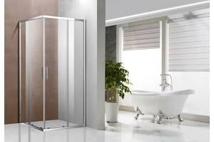 Скляна душова кабіна Glass A1421, 190х90х90 Clear