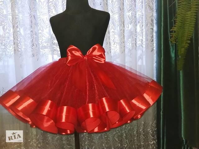 купить бу Юбка пачка красная для девочек фатинова пышная костюм цветочек, Минни Маус, бусинка в Белой Церкви