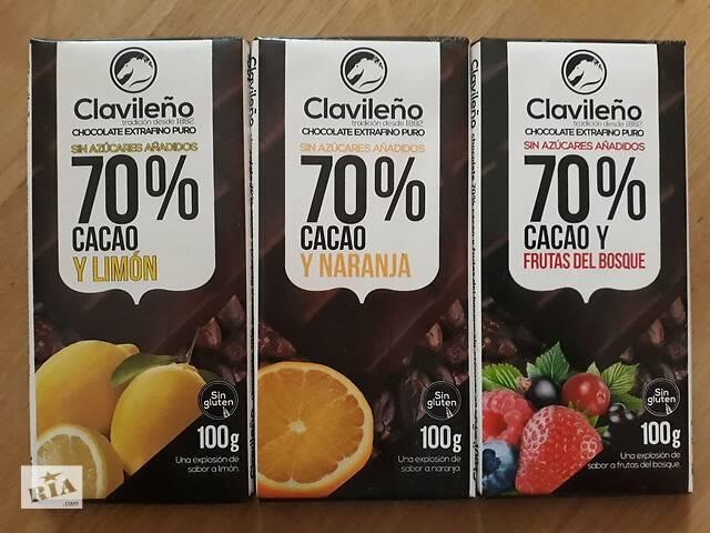 купить бу Шоколад Clavileno, БЕЗ САХАРА и глютена, Испания, 100г (УЦЕНКА) в Львове