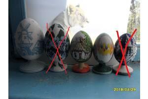 Яйця декоративні оплетеные бісером і картини.
