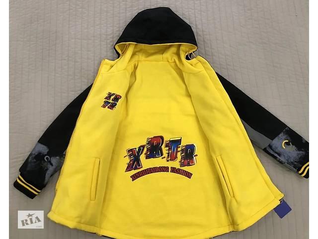 Куртки парки демисезонные для мальчиков 7-12 лет 3 цвета
