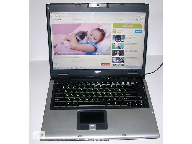 купить бу Ноутбук рабочий!!! 3 Гг оперативки, 120 Гг диск, камера. в Казатине