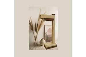 Лампа настольная деревянная лофт для спальни детской школьника ночник