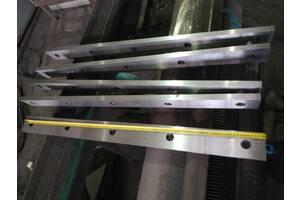 Ножи гильотинные длиной до 1300 мм - изготовление под заказ