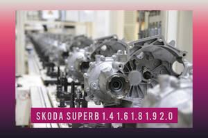 ТОП Skoda SuperB 2008-2015 1.6 1.9 2.0 TDI МКПП КПП Коробка передач 5/6 ступка СуперБ