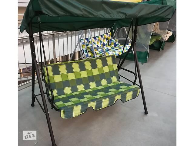 продам Садова гойдалка 3-х місцева, гойдалка, качеля, до 210 кг, нова бу в Києві