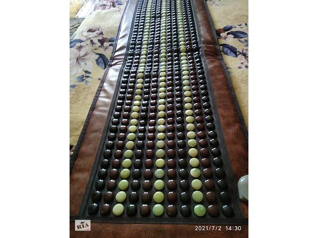 купить бу Турмалиновый(турманієвий) нефритовый коврик 150-50 см в Лисичанську