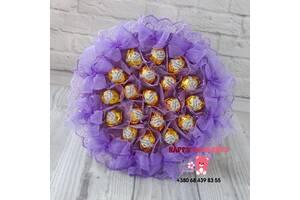 Букет из конфет, подарок на день учителя, день рождения, юбилей