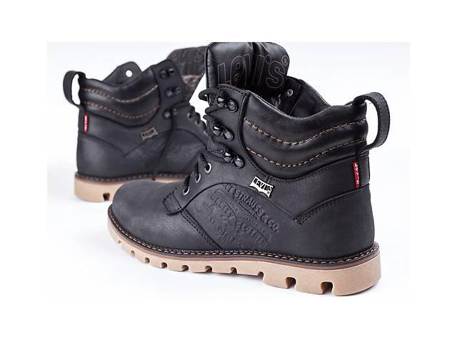 Шкіряні чоловічі черевики Levis Leather Jax Shoes- объявление о продаже  в Вознесенске