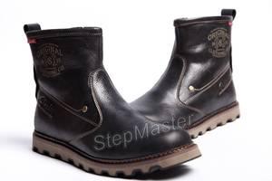 Кожаные мужские сапоги Clarks Mellor Top
