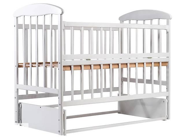 детская деревянная кровать наталка маятник откидной бок