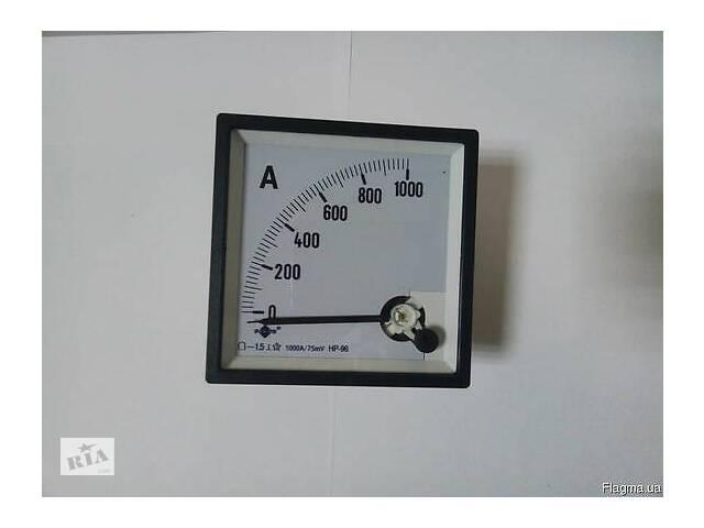 Амперметр DC 75mV, 1000A HР-96