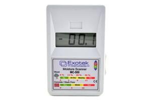 Бесконтактный влагомер (СВЧ) древесины и стройматериалов Exotek MC-500 (0-30%) Ручная калибровка (mdr_5156)