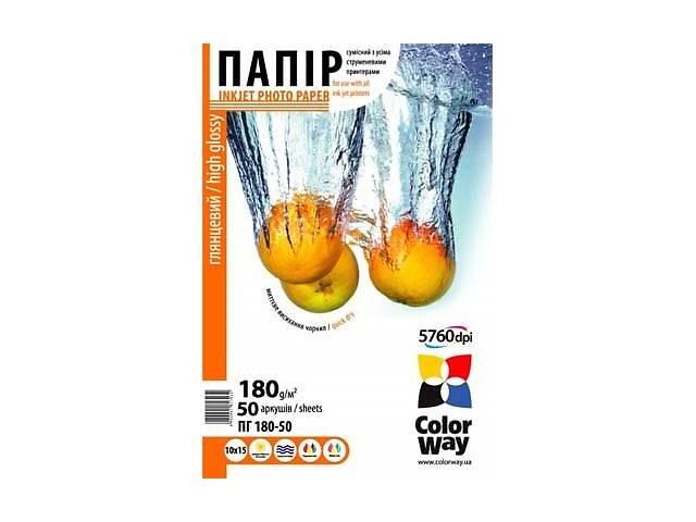 Папір ColorWay 10x15 (PG1800504R)- объявление о продаже  в Харкові