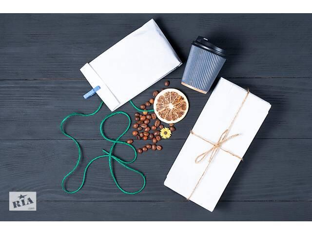продам Бумажный крафт пакет, для булочек, шаурмы, подарчные бу в Житомире