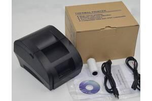 Чековый и этикеточный термопринтер POS58
