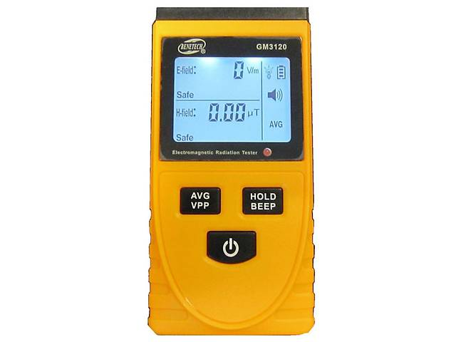 продам Детектор электромагнитного излучения GM3120 ( 1-1999 В/м, 0.01-19.99 μt ) BENETECH (mdr_2087) бу в Киеве