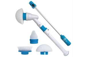 Электрическая щетка для влажной уборки Hurricane Spin Scrubber 6762 (gr_010795)