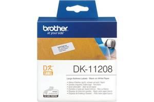 Этикет-лента Brother 38*90 к QL-1060N, QL-570 (DK11208)