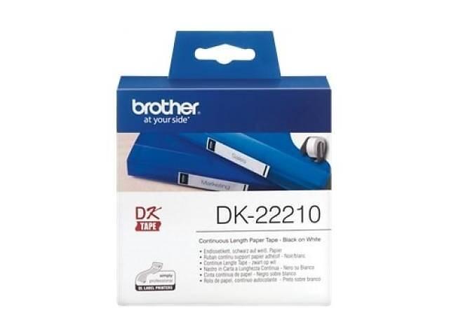 купить бу Этикет-лента Brother для принтера QL-1060N/QL-570QL-800 (29mm x 30.48M) (DK22210) в Харькове