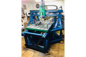 Фрезерні Роботи з ЧПУ розмір стола 1200х1000х250мм
