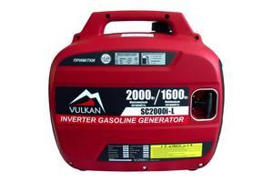 Генератор інверторній бензиновий Vulkan SC2000i-L 2 кВт + Доставка