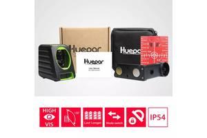 Huepar BOX-1R точнейший лазерный уровень нивелир 2 линии 2 излучателя батарейки