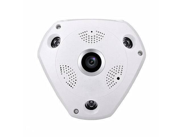 IP камера панорамная потолочная MicroSD Спартак VR360-WIFI-A13 Белый (005789)
