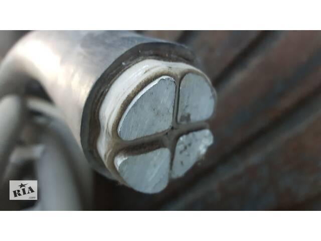 продам Кабель алюмінієвий 240, АВБбШв 4х240, 3 відрізка бу в Чернівцях
