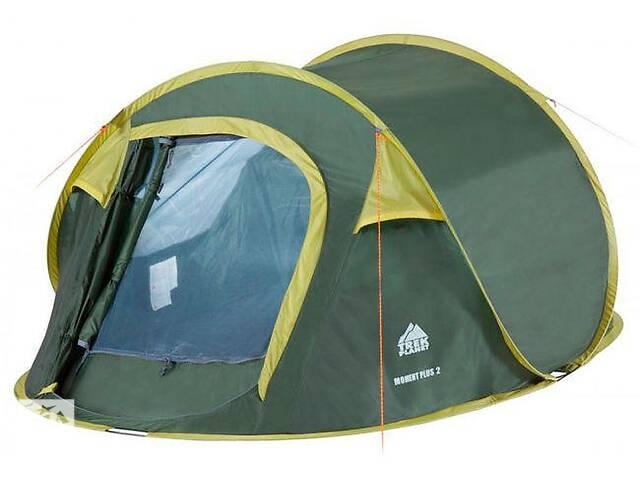 Кемпинговая палатка Trek Planet Moment plus 2 20048220070146 зеленый- объявление о продаже  в Киеве