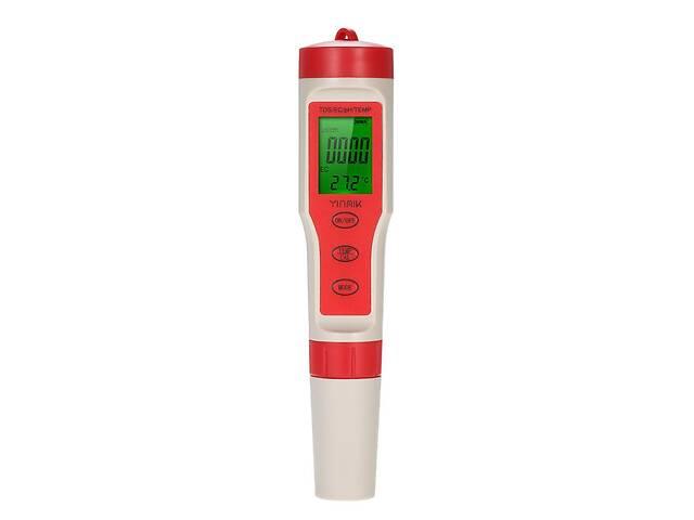 купить бу Комбинированный влагозащищённый TDS/рН/ЕС/Temp метр Kelilong EZ9908 с термометром АТС (mdr_3014) в Киеве