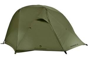 Комфортная двухместная палатка Ferrino Nemesi 2 (8000) Olive Green 923826, оливковый