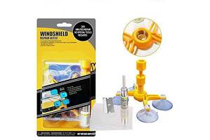 Комплект для ремонта лобового стекла автомобиля windshield