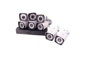 Комплект відеоспостереження бездротової DVR KIT CAD Full HD UKC 5519 на 8 камер (gr_010218)
