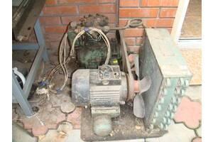 Компрессор с электродвигателем для промышленных холодильных установок.