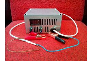 Лабораторний блок живлення - зарядка; U = 0,2 - 22V; I = 0,3 А - 10А