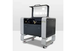 Лазерный станок CO2 (гравер, резак) с ЧПУ (Новый, Ruida, 80W)