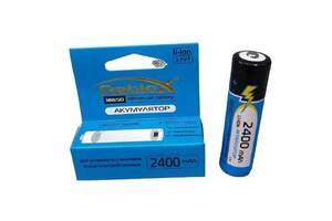 Литий-ионный аккумулятор 18650 С защитой Rablex 2400 mAh 3.7 V  (Li-ion) Original