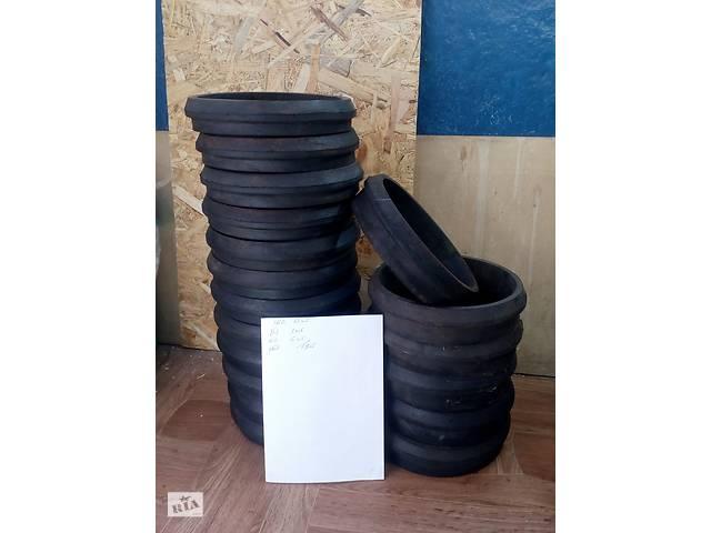Манжета или сальник на чугунную канализационную трубу Ду 150мм- объявление о продаже  в Харькове