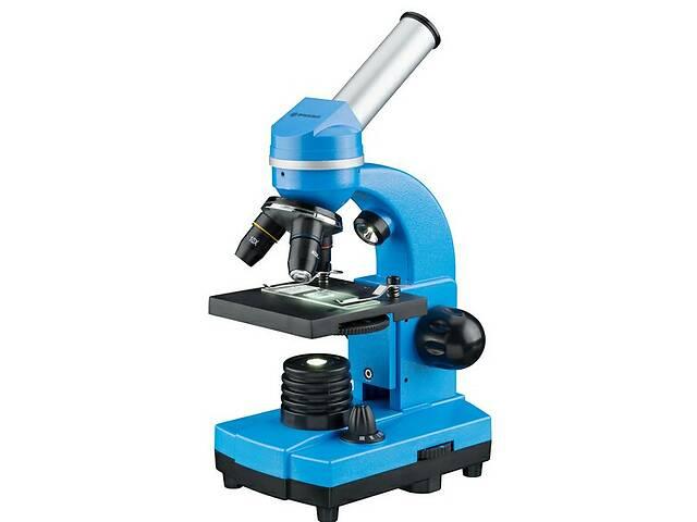 купить бу Микроскоп Bresser Biolux SEL 40x-1600x Blue синий в Киеве