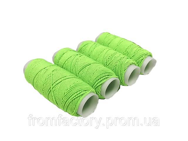 продам Нитки резиновые (Салатовые) 1шт/0.9мм/25м бу в Харькове