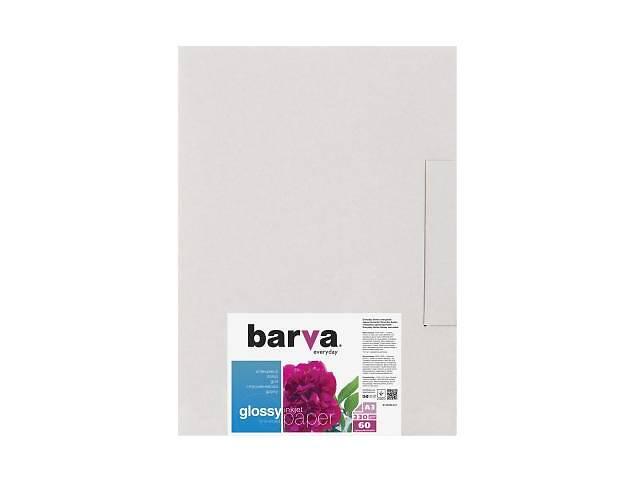 купить бу Папір BARVA A3 Everyday Glossy 230г, 40л (IP-CE230-274) тип друку - струменевий, колір - білий, щіль в Києві