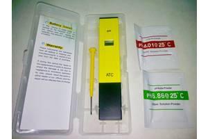 PH метр / PH тестер / PH Meter + растворы + футляр