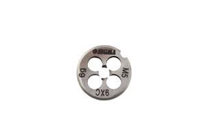 Плашка для нарезки резьбы М6×1,0мм Sigma 1604171