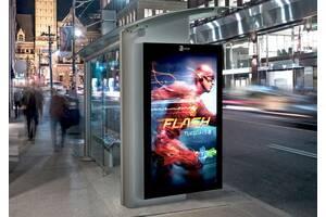 Постер-плакат папір сіті city light city paper citylight сітілайт папір