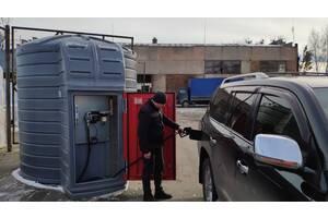 Резервуар 5 тон с модулем PIUSI Италия для диз топлива, емкость, АЗС