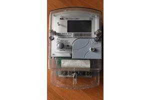 Счетчик эл. энергии многотарифный НІК 2102-01.Е2МСТ 220 В (5-60) А, с индикаторами магнитного и радио полей