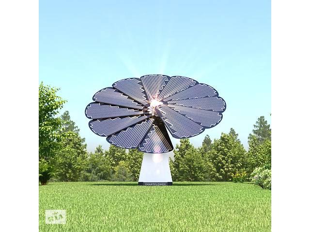 Smartflower sunflower — мобильная солнечная панель с трекером- объявление о продаже   в Украине