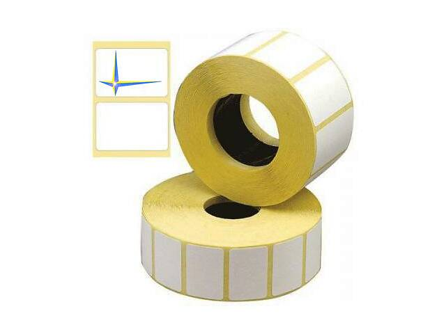 Термоэтикетка 40х25мм для термопринтера этикеток 1000шт.